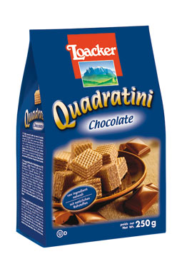 Wafers quadratini Loacker vari gusti 220/250 g