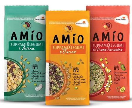 Zuppa Mix Legumi vari gusti Amio  500g