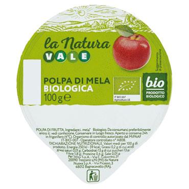 Polpe di frutta Biologica Vale vari gusti 100 g, al pz