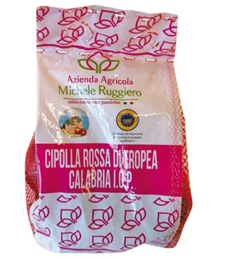Cipolla rossa di Tropea IGP 500 g al pz