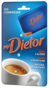 Dolcificante Dietor Mini x 120 compresse 6 g