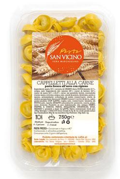 Cappelletti alla carne San Vicino 750 g