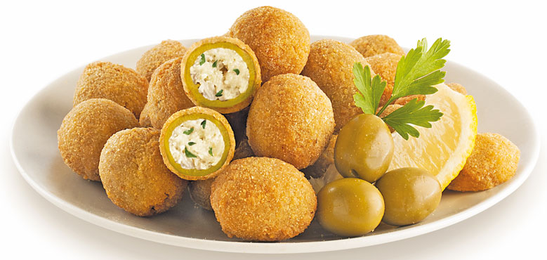 Olive ripiene di pesce Pranzo&Cena al kg