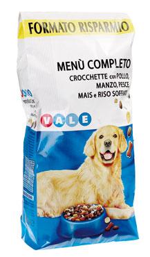 Crocchette complete Menu'cane Vale 10 kg