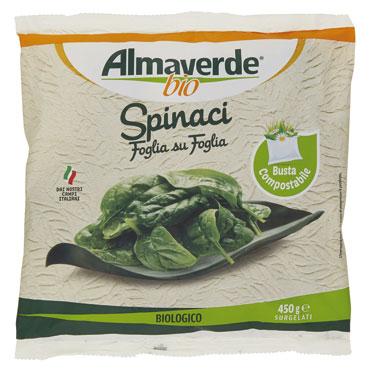 Spinaci Foglia su Foglia Almaverde Bio 450 g