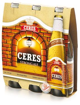 Birra Ceres Strong bottiglia 3 x 33 cl