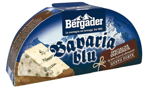 Formaggio bavaria blu vari gusti Bergader 175 g