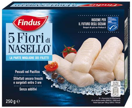Fiori di Nasello Findus 250 g