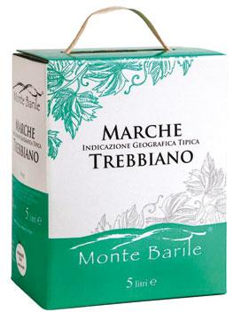 Trebbiano/Sangiovese/Rosato IGT Marche BiB Montebarile 5 l