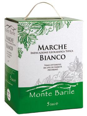 Marche Bianco IGT/Passerina Marche IGT/Falerio DOC BiB Montebarile 5 l