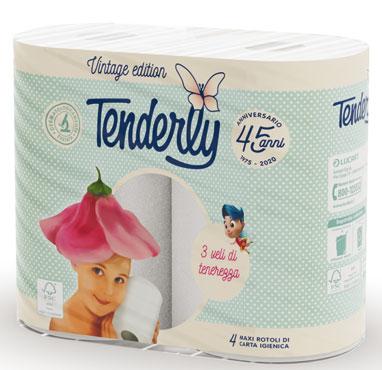 Igienica Tenderly Vintage 4 rotoli