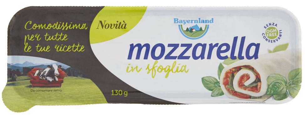 Mozzarella in sfoglia Bayernland 130 g