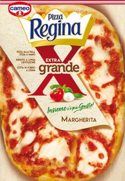 Pizza regina extragrande Margherita Cameo 450 g