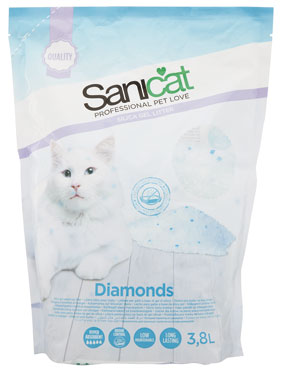Lettiera Sanicat Diamonds 3,8 l