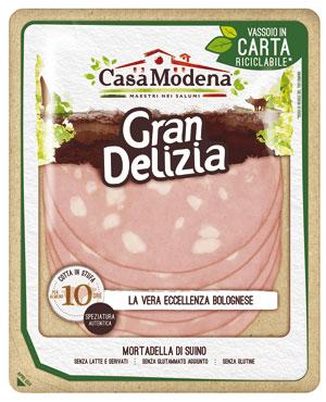 Mortadella gran delizia Casa Modena 120 g