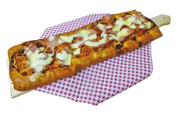 Pizza alla pala Stacchotti var i gusti al kg