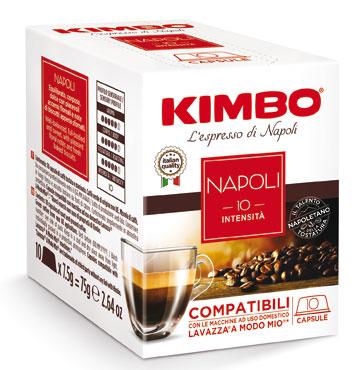 Capsule Kimbo compatibili A Modo Mio vari tipi x10