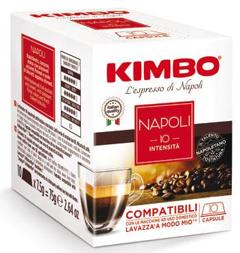Capsule Kimbo compatibili A Modo Mio vari tipi x10 75 g