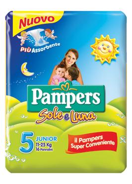 Pampers Sole&Luna varie misure