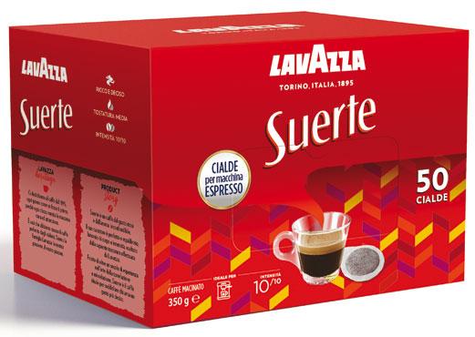 Cialde Lavazza suerte x50 350 g