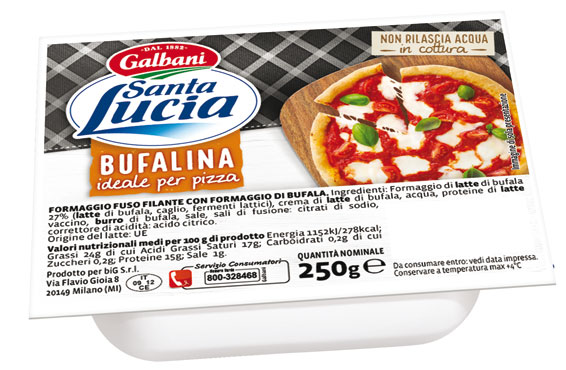 Panetto bufalina per pizza 250 g