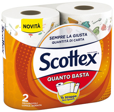 Asciugatutto Quanto Basta Scottex x2 rotoli