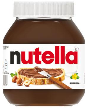 Nutella Ferrero 725 g