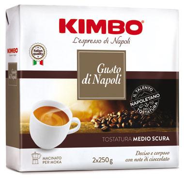 Caffe' Kimbo Gusto di Napoli 250 x 2