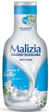 Bagnoschiuma Malizia varie profumazioni 1 l