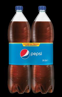 Pepsi Cola regular/zero pet 2 x 1,5 l