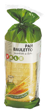 Pan bauletto all'olio d'oliva/grano duro Vale 400 g