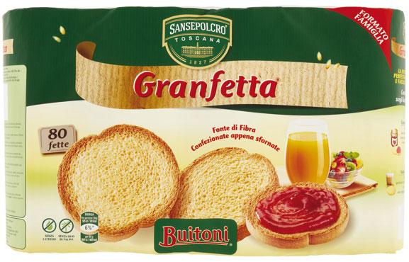Granfetta Buitoni classica/integrale 600 g