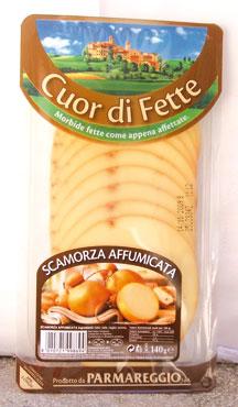Scamorza bianca/affumicata a fette Parmareggio 140 g