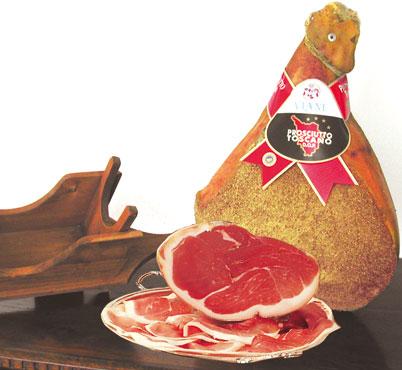 Prosciutto Toscano DOP Viani al kg