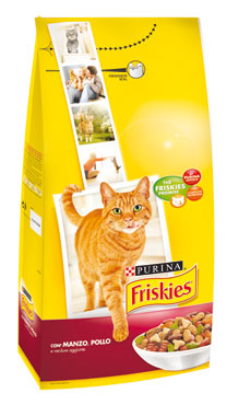 Friskies Active croccantini gatto vari gusti 2 kg
