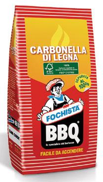 Carbonella Fochista sacchetto 2,5 kg