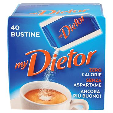 Dolcificante Dietor x 40 bustine 40 g