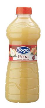 Succhi di frutta Yoga pet vari tipi 1 l