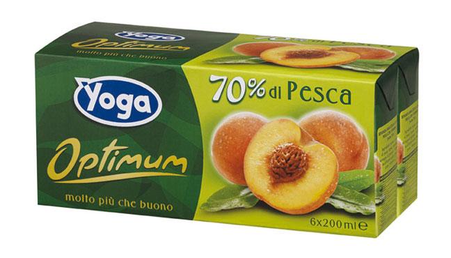 Succhi di frutta Yoga Optimum vari tipi 6x 200ml