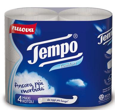 Igienica Tempo Rotoloni x 4