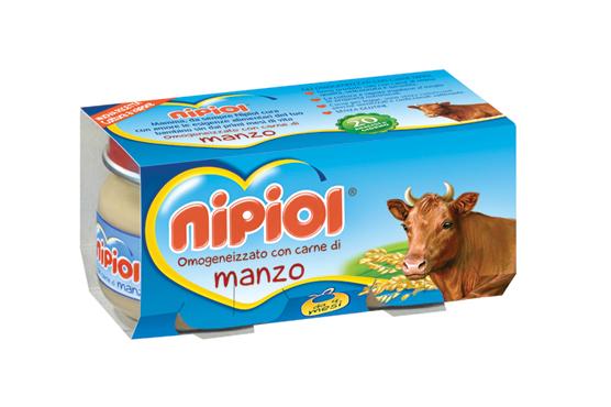 Omogeneizzati carne Nipiol vari tipi 2 x 80 g