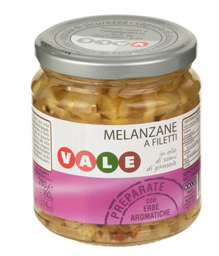 MELANZANE FILETTI GR.314  VALE
