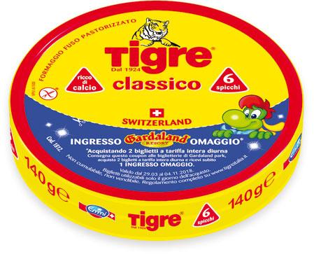 Formaggini Tigre 140 g