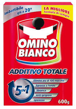 Omino Bianco L'Additivo 100 piu' bianco/color 600 g