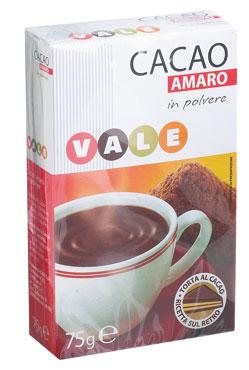 CACAO AMARO GR.75 VALE