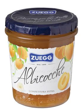 Confettura Extra Zuegg vari tipi 320 g