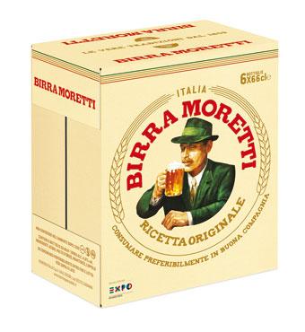Birra Moretti valigetta 6 x 66 cl