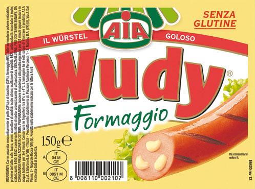 Wurstel al formaggio Wudy 150 g