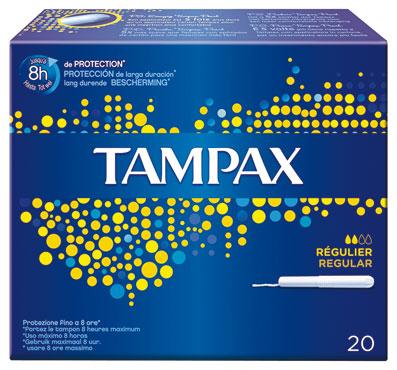 Linea Tampax vari formati