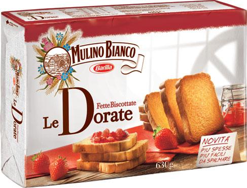 Fette biscottate classiche/integrali Mulino Bianco 630 g